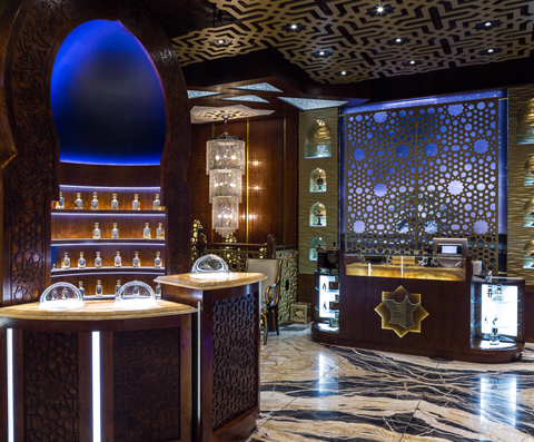 TPS Interiors - Arabian Oud shop design & fit out