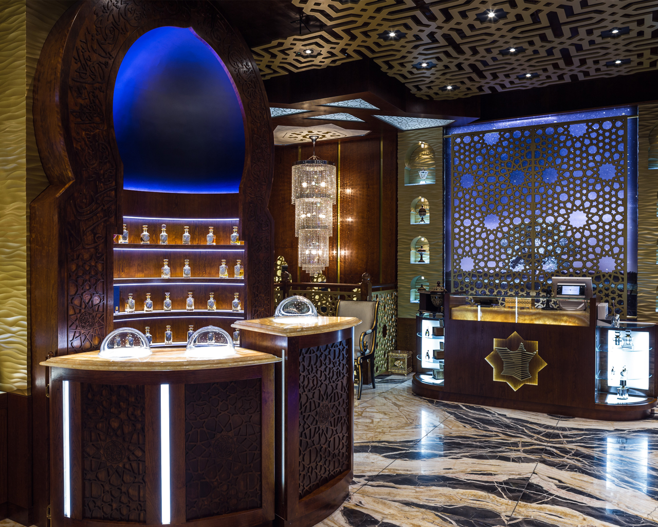 TPS Interiors - Arabian Oud shop fit out