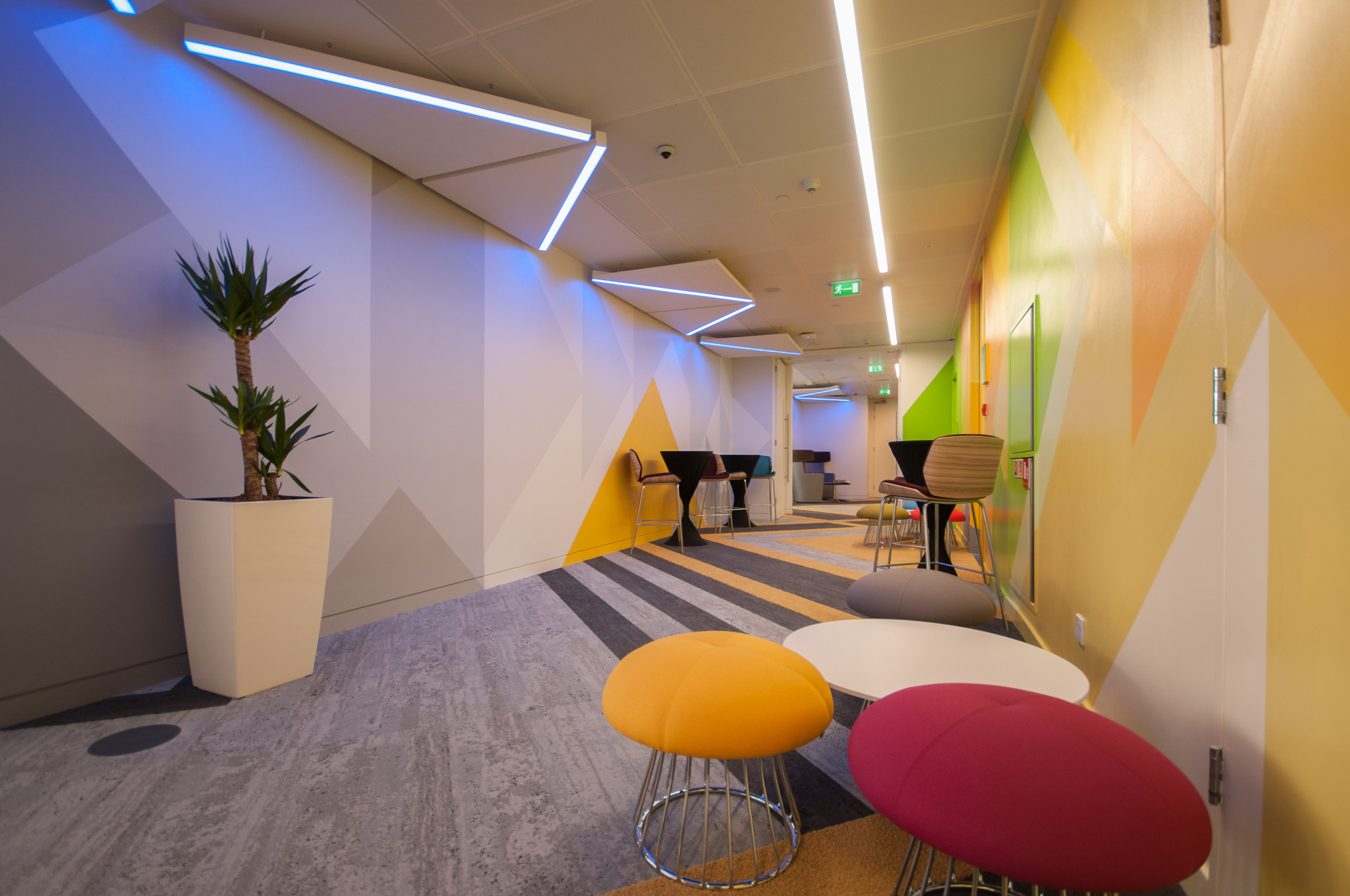 TPS Interiors - Level 39, Canary Wharf
