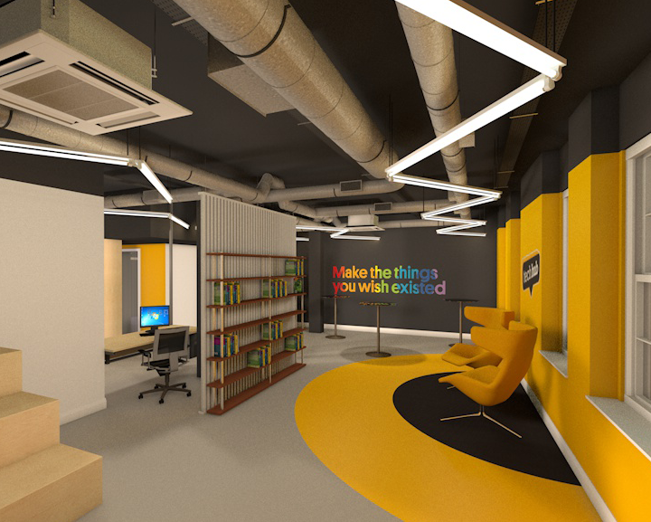 TPS Interiors - Techhub design